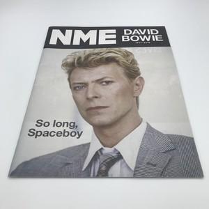 NME: David Bowie 2016 1月15日号