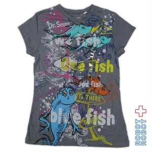 Tシャツ レディース 新品 Dr. Seuss's %22ONE FISH, TWO FISH%22