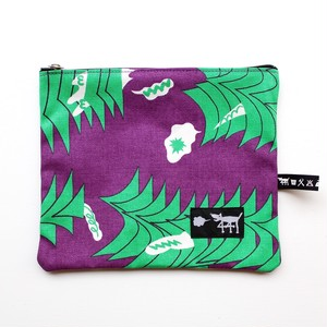 "441 yon yon ichi/Zip pouch ""sound wave"""