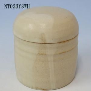 陶器製ミニ骨壷あんのん(NT033YSWH)無地