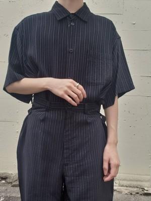【used】Y's 90s stripe shirt & pants set up ストライプシャツ&パンツ セットアップ ワイズ