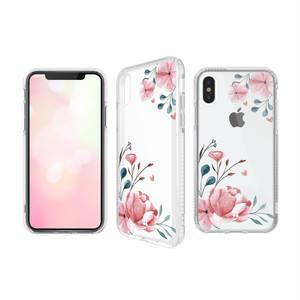 CaseStudi ケーススタディ iPhone Xs / X / XR / Xs Max  PRISMART Case 2018 アンティーク 花 Antique 耐衝撃 ケース 国内正規品