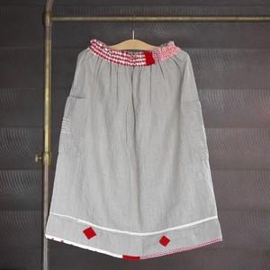 早川ユミ 30 麻スカート