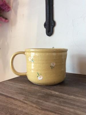 大﨑陽子 小花柄 マグカップ