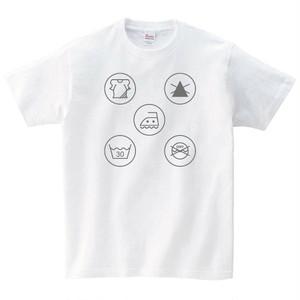 洗濯マーク Tシャツ