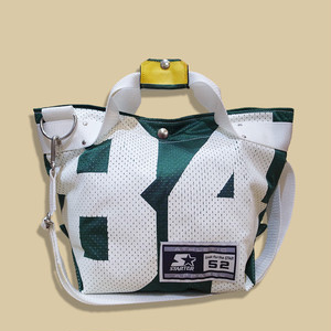 "WCH Remake NFL Game shirts Tote Bag (S) -""84""/ Green"
