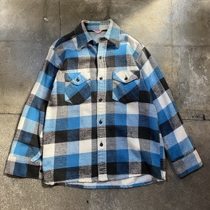 70s Heavy Flannel Shirt / USA
