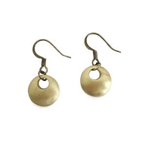 Pierced Earring Gold