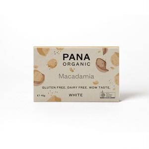 PANA ORGANIC 有機チョコレート WHITE CHOCOLATE MACADAMIA ホワイトチョコ マカダミア