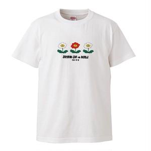"""「にっこりお花ちゃんTee」""""ユレニワ SAVE THE MARBLE"""" Tシャツ【受注生産(~5/31)】"""