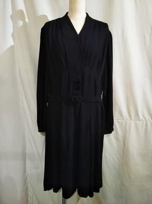 Vintage drape dress [O-336]
