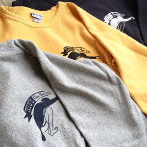 "Yellow Rat ""Kio's Ding Repair"" Crew neck Sweat Shirts"