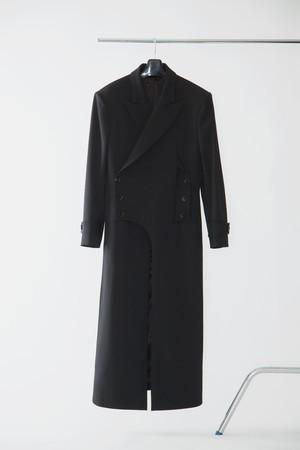 【FW20 先行受注】morning long jacket