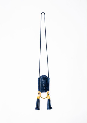 nahezu≒gleich / levi necklace(navy)