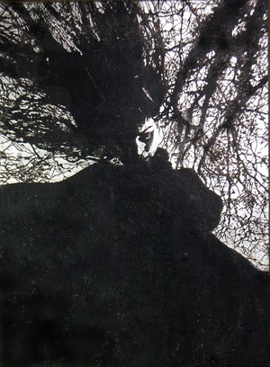 (原画)Tree II (winter witch)