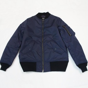 CLERIC MA-1  NAVY×BLACK