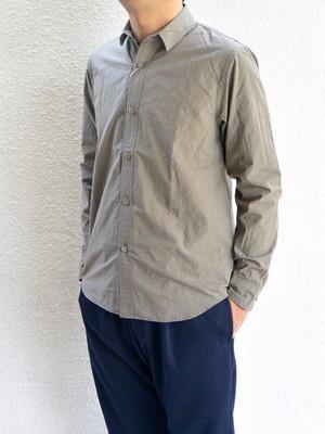 【ラスト2点】weac.(ウィーク)KURUMICHAN SHIRTS クルミちゃんシャツ KHAKI