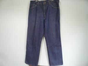 アメリカ製 Lee ビンテージ ストライプ デニムパンツ / 80s 90s OLD ピケ 縦縞