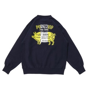 PORK BACK SWEAT/NV×WH