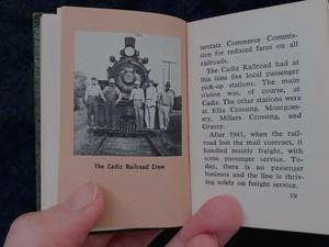 """AMERICA """"History of the CADIZ RAILROAD"""" 1960's miniature book"""