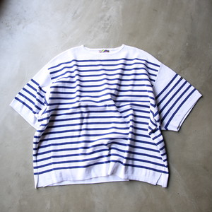 is-ness / SHORT SLEEVE BASQUE SHIRT