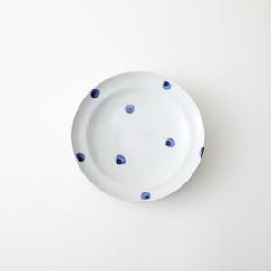 水玉皿5寸