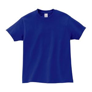 キッズ クルーネックTシャツ (半袖) ブルー