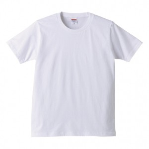 無地ホワイトTシャツ