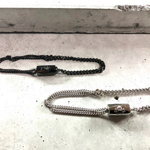 【MB-7BR】Two types of chains bracelet <再入荷>