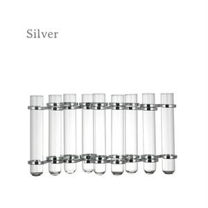 【CH03-V76】Link tube vase フラワーベース / インダストリアル / 試験管 / モダン