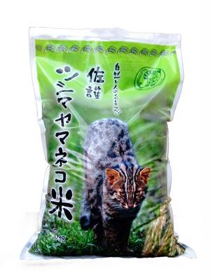 新米★『自然と人のくらしをつなぐ佐護ツシマヤマネコ米』 5Kg袋単品