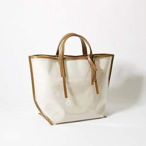 CECILY CANVAS beige leather【MORROW】