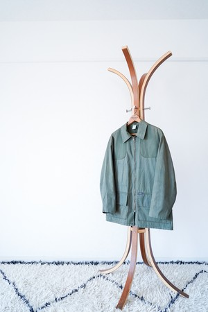 "【1960s, French】""Hermit"" Colamtiss Cloth Hunting JKt  / v490"