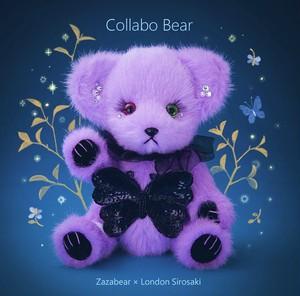 Zaza Bear × London Sirosaki Collabo Bear