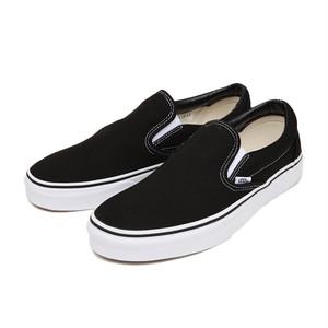 VANS / CLASSIC SLIP-ON -BLACK/WHITE-