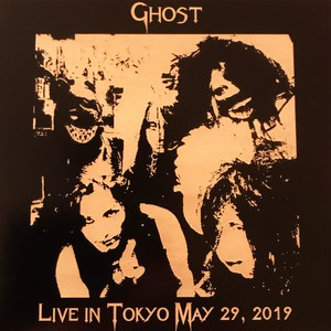 1st press★2枚組 (1DVDR+1CDR) Ghost (ゴースト) Live in Tokyo May 29, 2019 歌詞付き 紙ジャケット 限定レーザー刻印仕様