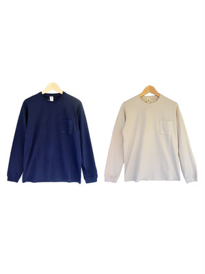 Jackman ジャックマン JM5645 Pocket Long Sleeve T-Shirt