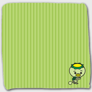 かっぱハンドタオル(緑)