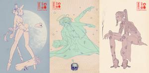 桃色奇舌男子A4ポスター