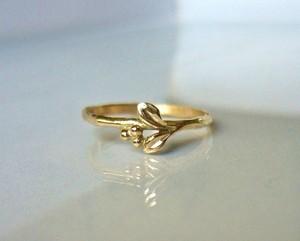 「受注製作 マートルのK14の指輪」