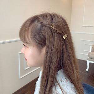 butterfly hair clip set