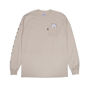 RIPNDIP - Lord Nermal Pocket L/S (Tan)