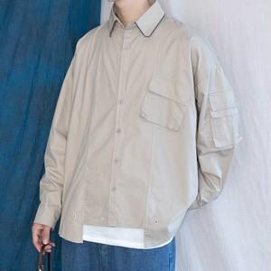 ドルマンスリーブユニークシャツ BL4587