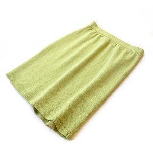 Neon Green Knit Pencil Skirt / ネオングリーンニットタイトスカート