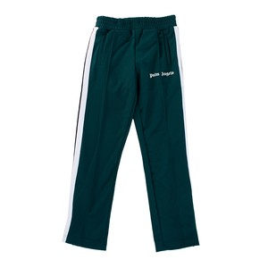 PALM ANGELS Track Pants Green Mens