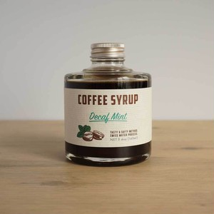 COFFEE SYRUP / Decaf mint