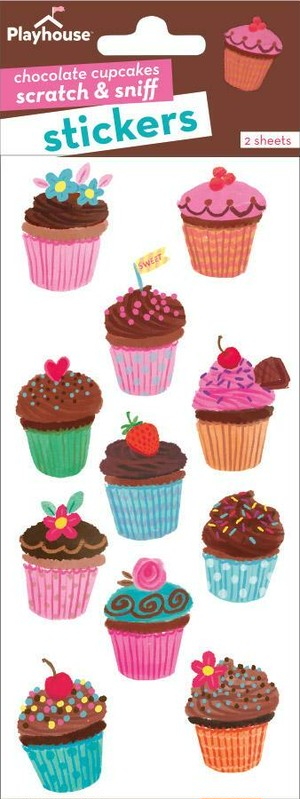 Chocolate Cupcakes scratch & sniff / PH