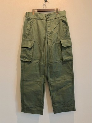 FRENCH ARMY PANTS (SAGE GREEN) / LOST CONTROL