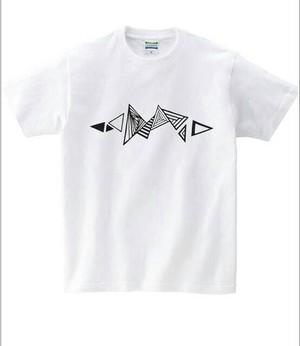 胎動×大佐 T-shirt (平成28年熊本地震チャリティー)  WHITE