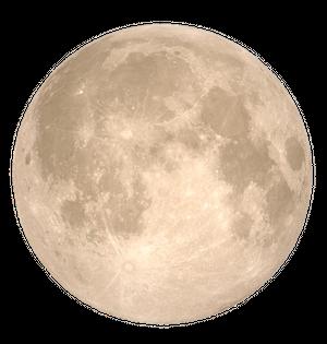 Beautiful Higher Moon